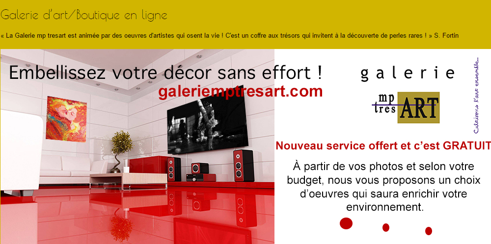 Boutique en ligne mp tresart
